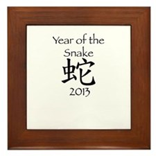 Chinese New Year 2013 Framed Tile