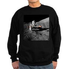 Eugene an on Lunar Rover, Apollo 17 - Sweatshirt