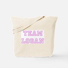 Pink team Logan Tote Bag