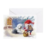 Old english sheepdog cards Greeting Cards (10 Pack)
