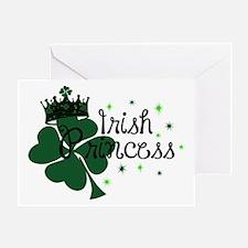 Irish Princess Greeting Card
