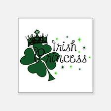 "Irish Princess Square Sticker 3"" x 3"""