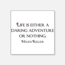 Helen Keller Rectangle Sticker