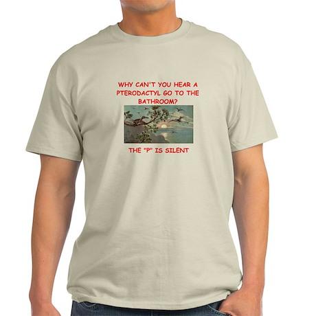 dinosaur joke Light T-Shirt