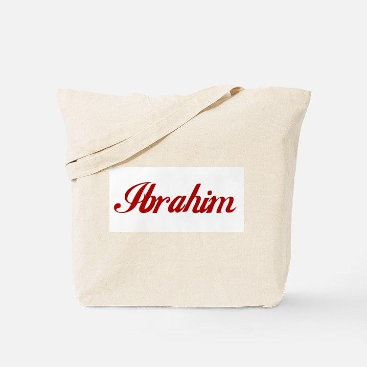 Ibrahim name Tote Bag