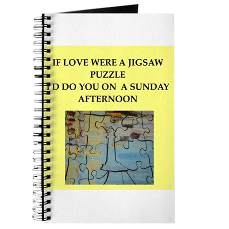 JIGSAW puzzle Journal