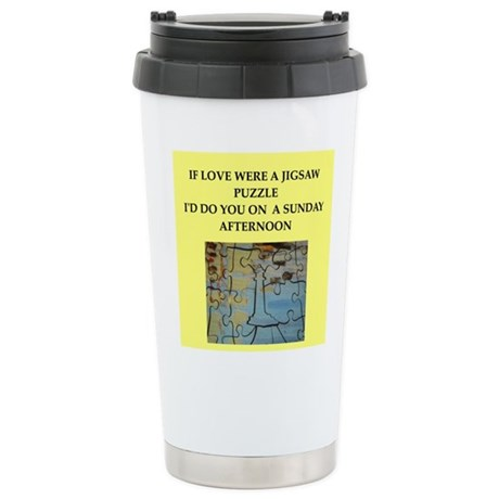 JIGSAW puzzle Stainless Steel Travel Mug