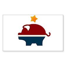 Moneyocrat party logo Decal