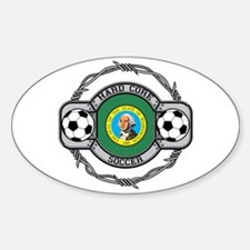 Washington Soccer Oval Decal