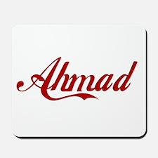 Ahmad name Mousepad
