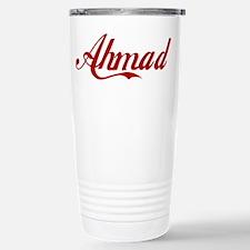 Ahmad name Travel Mug