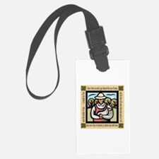 Vegetarian da Vinci Quote Luggage Tag