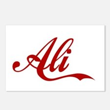 Ali name Postcards (Package of 8)