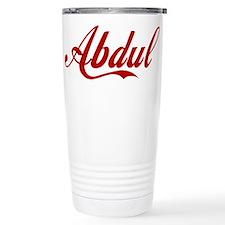 Abdul name Travel Mug