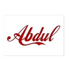 Abdul name Postcards (Package of 8)