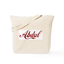 Abdul name Tote Bag