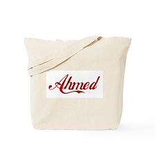 Ahmed name Tote Bag