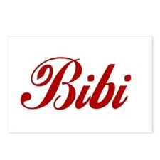 Bibi name Postcards (Package of 8)