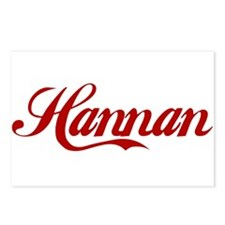 Hannan name.png Postcards (Package of 8)
