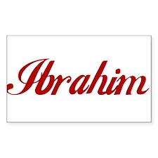 Ibrahim name Decal