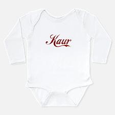 Kaur name.png Long Sleeve Infant Bodysuit
