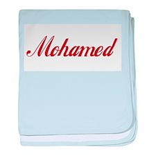 Mohamed name.png baby blanket