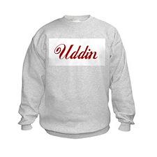 Uddin name.png Sweatshirt