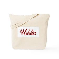 Uddin name.png Tote Bag