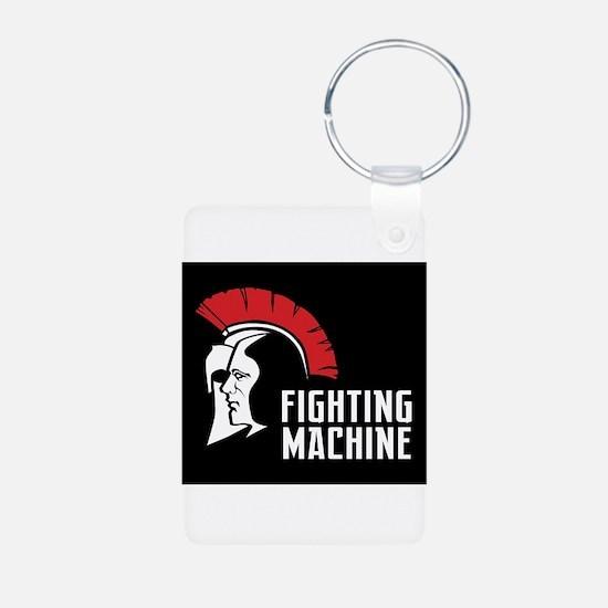 Fighting machine Gear Black Keychains