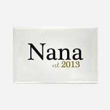 New Nana Est 2013 Rectangle Magnet