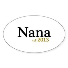 New Nana Est 2013 Decal