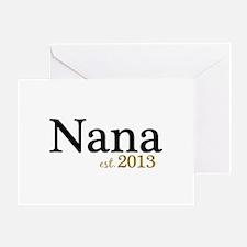 New Nana Est 2013 Greeting Card