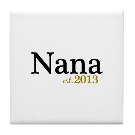 New Nana Est 2013 Tile Coaster