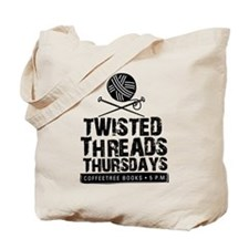 Twisted Threads Tote Bag