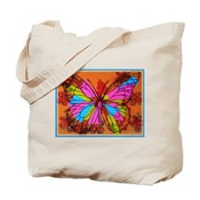 Butterfly! Abstract art! Tote Bag