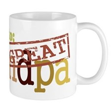 Promoted to Great Grandpa Small Mug