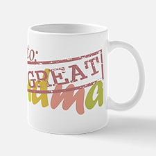 Promoted to Great Grandma Mug