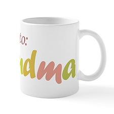 Promoted to Grandma Small Mug