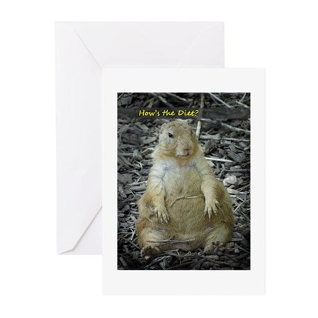 Hows the Diet? Greeting Cards (Pk of 20)