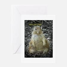Hows the Diet? Greeting Card