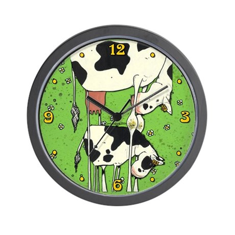 Cows Wall Clock