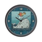 Blow Hole Wall Clock