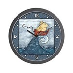 High Seas Wall Clock