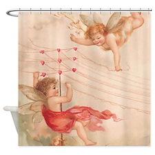 Cupid Angel 4 Shower Curtain