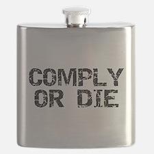 Unique Financial Flask