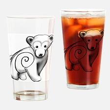 Polar Bear - ZooWhirlz Drinking Glass