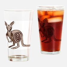 Kangaroo - ZooWhirlz Drinking Glass