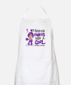 Fights Like a Girl 42.9 Lupus Apron