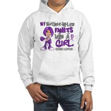 Fights Like a Girl 42.9 Lupus Hoodie