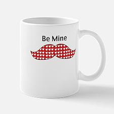 Mustache Be Mine Valentine Mug